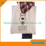 Sac en coton naturel naturel de 5 oz, sac à bandoulière en coton ordinaire