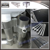 販売に使用する取り外し可能な移動式アルミニウム段階のプラットホーム