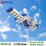 Lámparas al aire libre solares a estrenar de la luz de calle de 60W LED con descuento