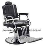 Beleza Barbeiro Cátedra para o homem com braço de aço inoxidável e pedal de alumínio