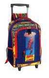 学校(DSC01491-DSC01495)のための涼しい男の子のトロリー袋そして運動袋