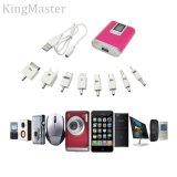 Kingmaster Digitalanzeigen-Energien-Bank mit Ladegerät des Handy-4400mAh