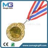 Medaglia di oro di avvenimenti sportivi personalizzata alta qualità