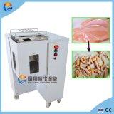 Промышленное автоматическое свежее мясо обнажает части Shredding отрезающ автомат для резки