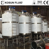 La qualité sanitaire de qualité alimentaire de petits chemisé chauffée du réservoir en acier inoxydable avec isolation Fabricant de fabrication fournisseur