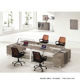 Mesa de escritório para a equipe de funcionários da companhia a mobília de escritório da mesa da equipe de funcionários da tabela do computador