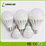 Économiseur d'énergie ampoule LED en plastique 3W 5W 7W 9W 12W 15W 18W ampoule LED avec ce RoHS Chine Fabricant