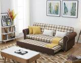 Античная лежа ткань Sofabed как живущий мебель комнаты