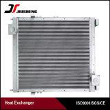 Réfrigérant à huile en aluminium d'excavatrice d'ailette de plaque de prix usine