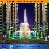 Fontaine décorative de créateur d'éclairage LED professionnel de modèle