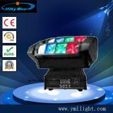 Der Disco-Verein-LED 9X10W 4 in-1 RGBW Stadiums-Phantomlicht Träger-endloses bewegliches des Kopf-LED
