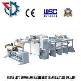 Rouleau de papier coupé à la feuille de la machine rotative à lame unique