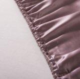 Taihuの雪Oekoは高水準のホーム織物の絹の寝具継ぎ目が無いシートの一定の絹の羽毛布団カバー絹の寝具セットを証明した