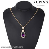 32749 Últimas Charm Eye Tear Design Synthetic CZ Fashion Necklace Pendant for Party