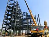 Edificios prefabricados del asunto de la estructura de acero con alta calidad en África