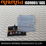 13.56MHz etiqueta imprimible/boleto de la insignia reutilizable RFID para el vehículo