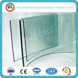 3mm - 19mm Clear Curved Tempered Glass with CCC ISO