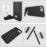Nueva llegada de la venta al por mayor de la alta calidad de la caja del teléfono TPU + PC con la tarjeta Solt para el iPhone 7