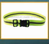 Revestimento reflexivo de cintura elástica para segurança de corrida