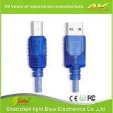 Shenzhen Factory vend le câble d'imprimante USB en PVC noir