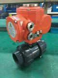 Válvula de bola de PVC con actuador eléctrico a prueba de explosión