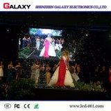 La buena calidad inconsútil de la visualización de pantalla de P6 LED con de aluminio a presión la fundición para el acontecimiento
