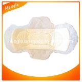 Toalhas sanitárias femininos de amostra livre de guardanapo sanitário do algodão orgânico