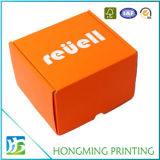 De leuke Oranje Verpakkende Doos van Keychain van het Karton van de Kleur