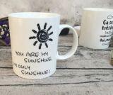 Taza de café de cerámica, taza de café linda, taza de café de la belleza