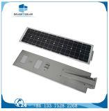 Batteria di litio del sensore di notte del sensore di movimento di PIR tutta in un indicatore luminoso di via solare del LED