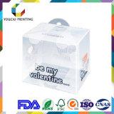 Qualitätsgarantie-Spitzenplastikhaustier-Azetat-verpackenkasten für Kosmetik