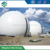 Double membrane souple Ballon de biogaz en tant que titulaire de gaz de stockage
