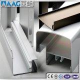 Perfil de vitrificação extrusão de alumínio/de alumínio