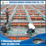 Gaiola líquida da piscicultura do HDPE da alta qualidade para a exploração agrícola do Tilapia