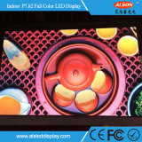 P7.62 HD plein écran à affichage LED à l'intérieur de couleur pour la publicité