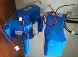 18650 12V côté Triangle 2200mAh Batterie Li-ion pour la pêche d'outils