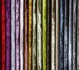 Equipamiento del hogar brillante terciopelo suave tela de la cortina decorativa