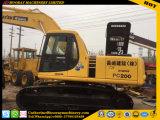 Japón hizo utiliza excavadora sobre orugas Komatsu PC200-6 (PC200-6) excavadora