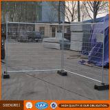 segurança provisória fácil de 4mm Austrália que cerc os carrinhos concretos