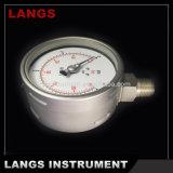 009 100mm WのタイプSsの圧力計