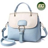 2017 bolsos de totalizadores ocasionales de cuero de los bolsos de las señoras del contraste del color de la PU de la nueva colección Sy8432