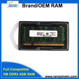 Lebenszeit-Garantie 256mbx8 DDR2 4GB SODIMM RAM genießen