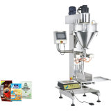 Pó do enchimento do eixo helicoidal da máquina de etiquetas da máquina de enchimento do eixo helicoidal máquina de etiquetas farmacêutica