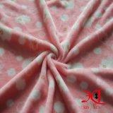 Tessuto comodo e poco costoso del tessuto 100% della flanella del poliestere per assestamento/pigiami