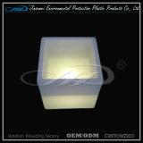 Cubo de hielo plástico de los muebles del LED con precio barato