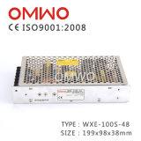 Bloc d'alimentation 100W SMP à sortie unique d'unité de puissance de Wxe-100s-27 100W