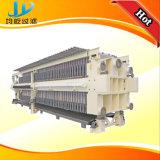 Filtre-presse avec le tissu lavant et secouant le système à vendre