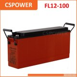 Batteria terminale 12V100ah della parte anteriore del gel del fornitore di FL12-100 Cina