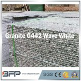 Azulejo de suelo Polished esmaltado blanco del granito de la piedra del material de construcción de China