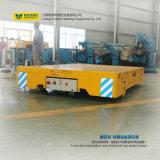 Louro de Powred da bateria a latir laje pré-fabricada do trole transporte Flatbed elétrico